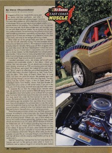 Article by Steve Chryssos from Popular Hotrodding Magazine - May 2003 - Page 26