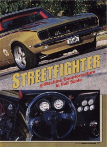 Article by Steve Chryssos from Popular Hotrodding Magazine - May 2003 - Page 27