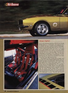 Article by Steve Chryssos from Popular Hotrodding Magazine - May 2003 - Page 28