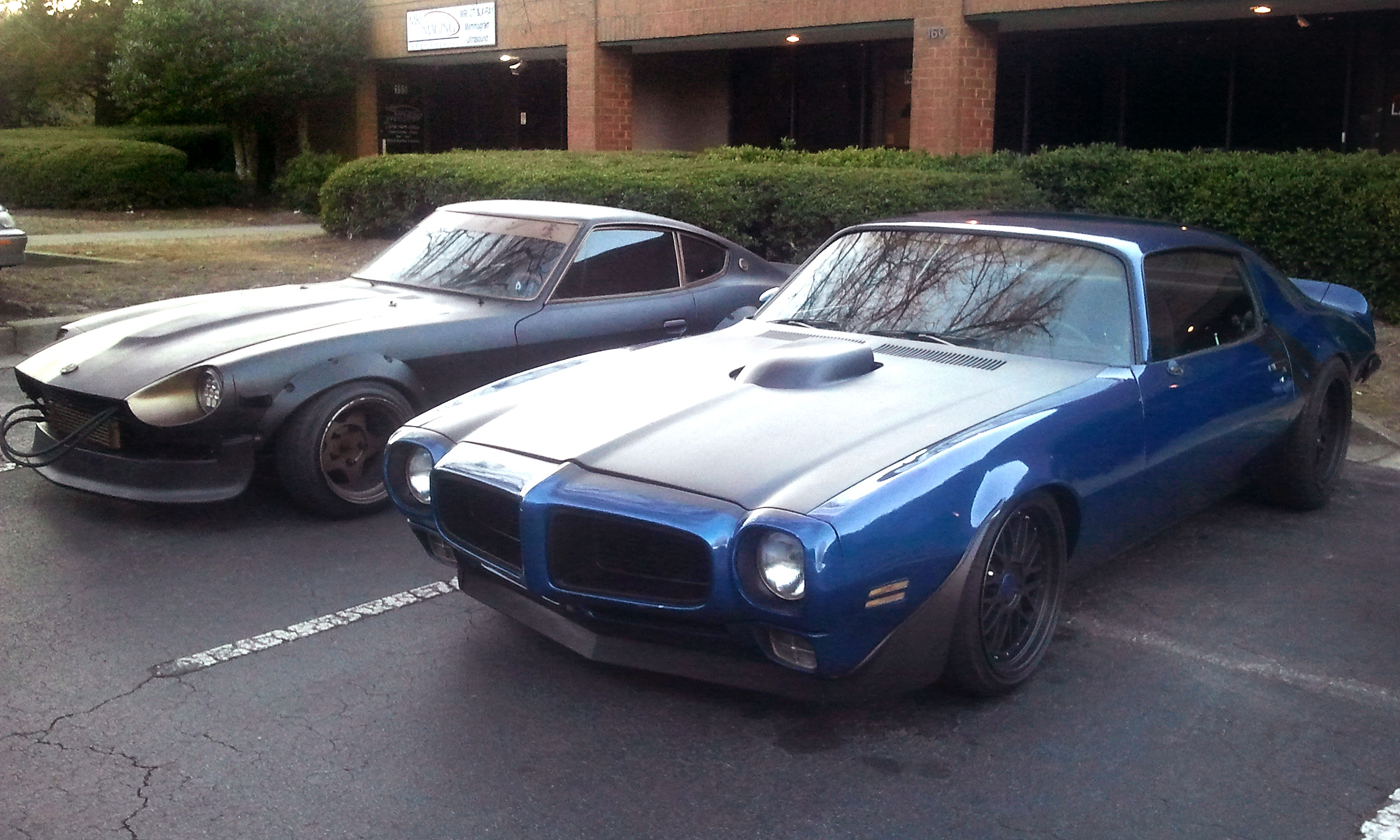 """My new 70 Firebird I named """"Strike"""" at our monthly VC Streetfighter"""